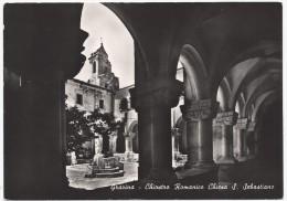 Gravina - Chiostro Romanico Chiesa San Sebastiano - H2114 - Bari