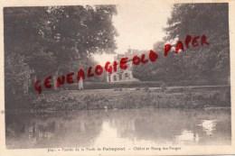 35 -  ENTREE DE LA FORET DE PAIMPONT - CHALET ET ETANG DES FORGES - Paimpont