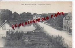 35 -   PAIMPONT - LA CHAUSSEE DE L' ETANG - Paimpont