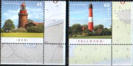 Germany 2014 Lighthouse Set--MNH (**)-- - Lighthouses