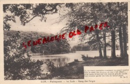 35 -    PAIMPONT -  L' ETANG DES FORGES   - LA FORET - Paimpont