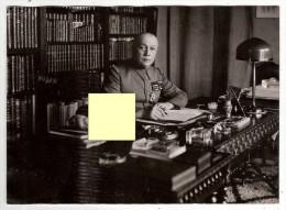 Photographie Photo Le Général Georges 1 Septembre 1939 Collection Henri Manuel  Soldat Guerre Militaria - Guerra, Militari