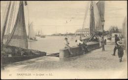 95- TROUVILLE - Le Quai.- LL - Trouville