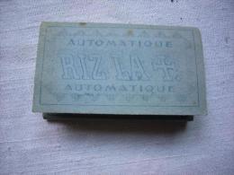 Ancien Paquet De Papier à Rouler Rizla+ N° 136 Automatique Bleu Neuf - Non Classés