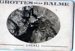 38 Grottes De LA BALME, Pochette De 10 Cartes Postales Sepia - La Balme-les-Grottes
