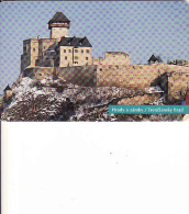 Slowakei, 25/96, Trenčiansky Hrad, Schloss Trenčín, Chip, Tirage 50 000 - Slowakei