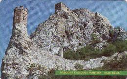 Slowakei, 14/99, Devínsky Hrad, Schloss Devín, Chip, Tirage 200 000 - Slovakia