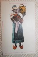 LL  -Les Vieux Costumes Pyrénéens - Type St GIRONNAIS - Jeune Femme De BETHMALE - Trachten
