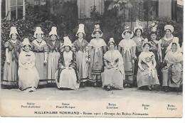 ROUEN 1911 - MILLENAIRE NORMAND - Groupe Des Reines Normandes - France
