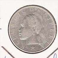 LIBERIA 50 CENTS 1961 SILVER - Liberia