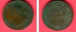 1 PENNY       (  KM  23 ) TB+8 - Moneda Pre-decimale (1910-1965)