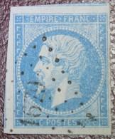 N°14 Oblitéré Petit Chiffre 1679 Lavoncourt Haute-Saône 2 Voisins - 1862 Napoleone III