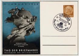 Allemagne / Journée Du Timbre 1938 / München / Munich - Allemagne