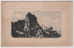 Italy Italia Lauria Antico Castello Castle Schloss Embossed 1900 Post Card Postkarte POSTCARD - Other Cities