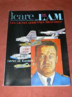 REVUE ICARE N� 102 / LIGNES AERIENNES MILITAIRES / MILITARIA WWII / AVION GUERRE / NORMANDIE /ITALIE /RESISTANCE