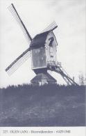 Windmolen Molen    Olen Hezewijkmolen              Scan 10132 - Windmills