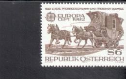 CEPT Historische Ereignisse Oesterreich 1713 ** Postfrisch - 1982