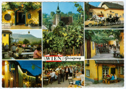 AK Wien 19.Bezirk XIX Döbling Grinzing Weinausschank Wine Tavern Taverna Di Vino Taverne De Vin Österreich Austria - Grinzing