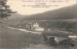 Route De Bagnères à Luchon Pont Sur L'adour Et Hotellerie Du Col D'Aspin Neuve Excellent état - Bagneres De Bigorre