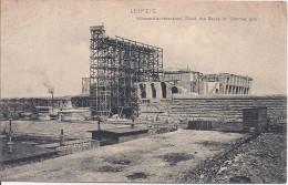 Leipzig - Völkerschlachtdenkmal. Stand Des Baues Im Sommer 1905 - Leipzig