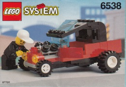 Lego 6538 Roadster Avec Plan 100 % Complet Voir Scan - Lego System