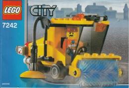 Lego 7242 Balayeuse avec plan 100 % Complet voir scan
