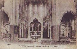 Vertou  205           Intérieur De L'église. Le Choeur - Francia