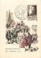 1948  Journée Du Timbr  Etienne Arago  Yv 794  Cachet De Paris - ....-1949