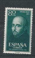 1955 MNH Espana, Spain, Postfris - 1951-60 Ungebraucht
