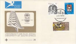 Südafrika(V536) - Brief Von 1973 - Unisarand  - Universität - Storia Postale
