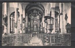 Quaremont.-  Intérieur De L´Eglise 1910. - Kluisbergen