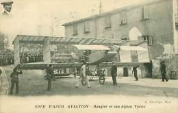 MONACO.N°1707.COTE D'AZUR AVIATION.ROUGIER ET SON BIPLAN VOISIN - Monaco