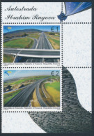 """REPUBLIC OF KOSOVO 2014 """"Ibrahim Rugova Highway""""  Set Of 2v** - Kosovo"""