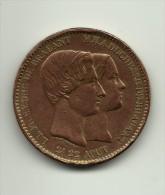"""België : 10 Centim.1853  """"Leopold En Hzg V. Brabant"""" - 1831-1865: Léopold I"""