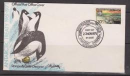 Australian Antarctic Territory 1971 Treaty 30c On Unaddressed Macquarie Base FDC - Unclassified
