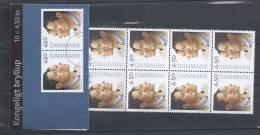 Danemark 2004 Carnet Neuf C1372 Mariage Princier - Boekjes