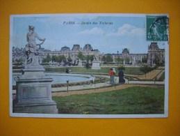 Cpa  PARIS  -  75  -  Le Jardin Des Tuileries - Parques, Jardines