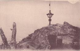 VIEIL ARMAND...LE SOMMET AVEC LA CROIX..GUERRE14 18 - War 1914-18