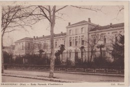 Cpa,draguignan,ecole Normale D´institutrices,var,1936, Futur Professeur,var,83 - Draguignan