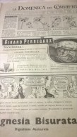 DOMENICA DEL CORRIERE N.43 24/10/54  UFO A MILANO/M.MORGAN/BESAGLIERI.../MILANO MERCATINO LIBRI SCOLASTICI - Libri, Riviste, Fumetti
