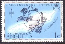 Anguilla 1974 SG #188 1c UPU MNH - Anguilla (1968-...)