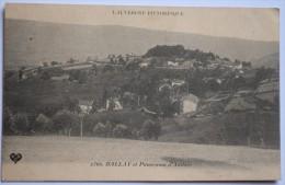 63 : Ballay Et Panorama D'Ambert - Plan Inhabituel - L'Auvergne Pittoresque - (n°3335) - Ambert