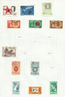 Pologne N°1106, 1111, 1112, 1114, 1116, 1120 à 1126, 1129, 1132, 1133, 1135 à 1137 Cote 2.90 Euros - Gebraucht