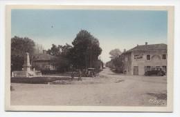 FRANCE ~ Place Et Cafe De La Mairie DOMMARTIN (AIN) Coffee House 1957 Postcard - France