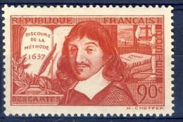 #K699. France 1937. Descartes. Michel 347 II. MNH(**) - France