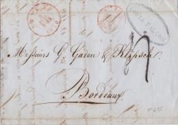 BELGIQUE  LETTRE AVEC  CORRESPONDANCE  1850 - 1830-1849 (Belgique Indépendante)