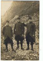 Photo  Militaire   1915   Courrier Pierrelatte  140 Col De Veste - Photographie