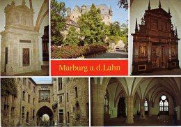 Marburg - Mehrbildkarte 8  Schloß - Marburg