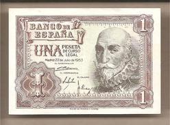Spagna - Banconota Circolata QFdS Da 1 Peseta - 1953 - [ 3] 1936-1975 : Regime Di Franco