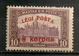Timbres - Hongrie - Poste Aérienne - 1920 - 8 K./10 -